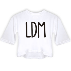 Playera Crop Top LDM